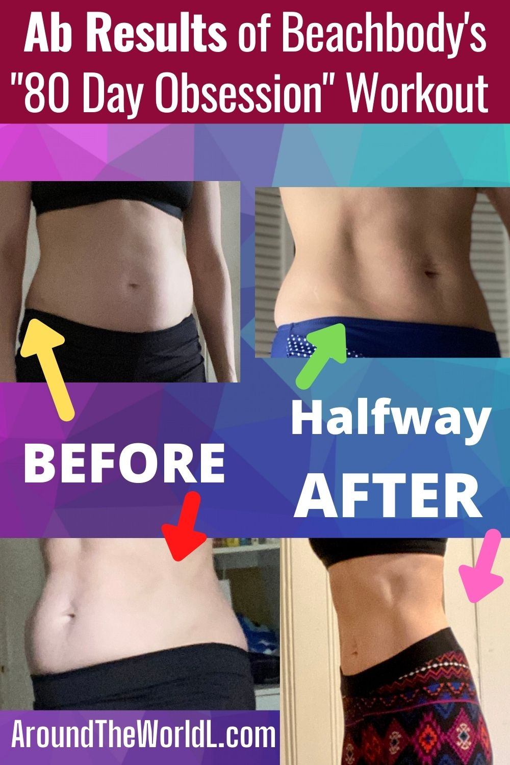 Ab results of 80 Day Obsession on Beachbody