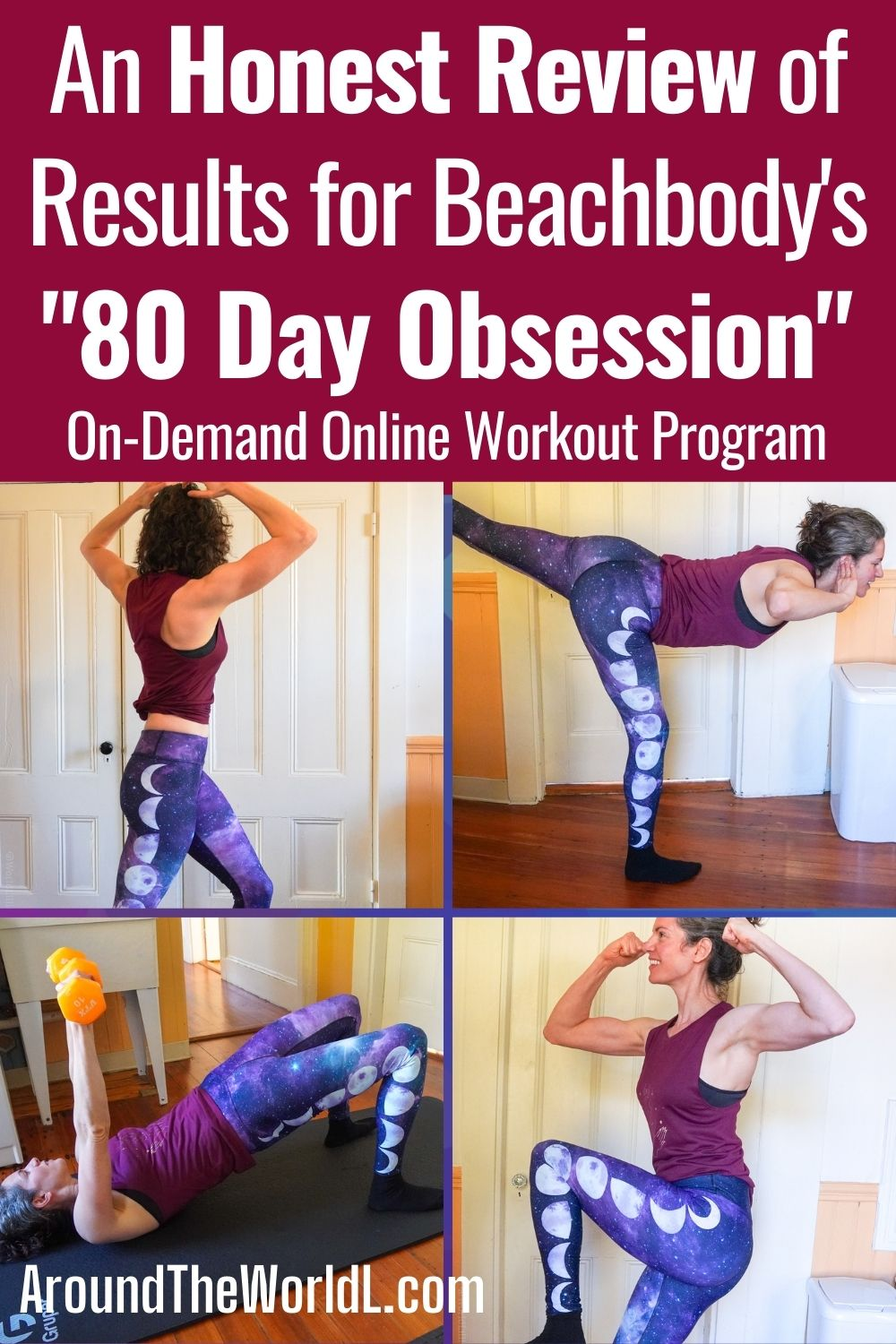 80 Day Obsession review and results on Beachbody