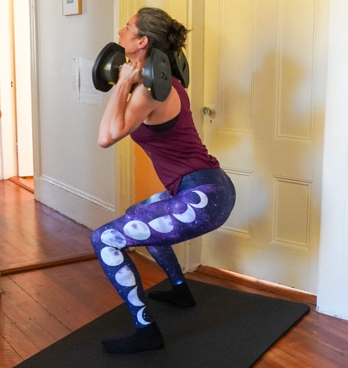 """Good old squats are part of """"80 Day Obsession."""""""