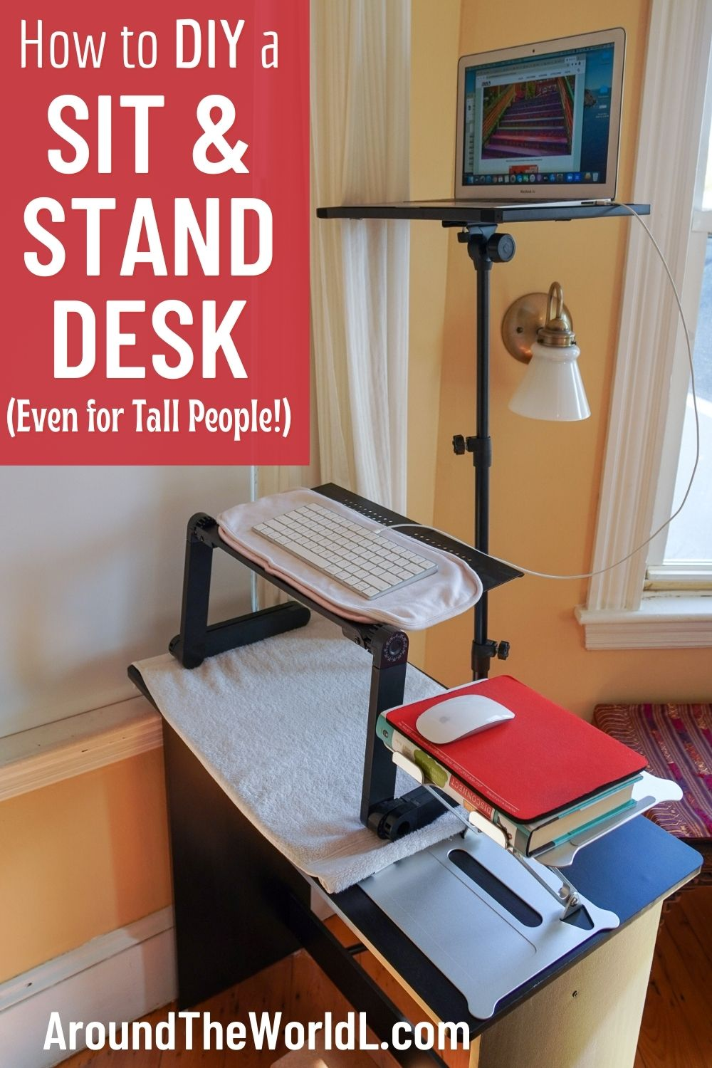 How to DIY a sit standing desk