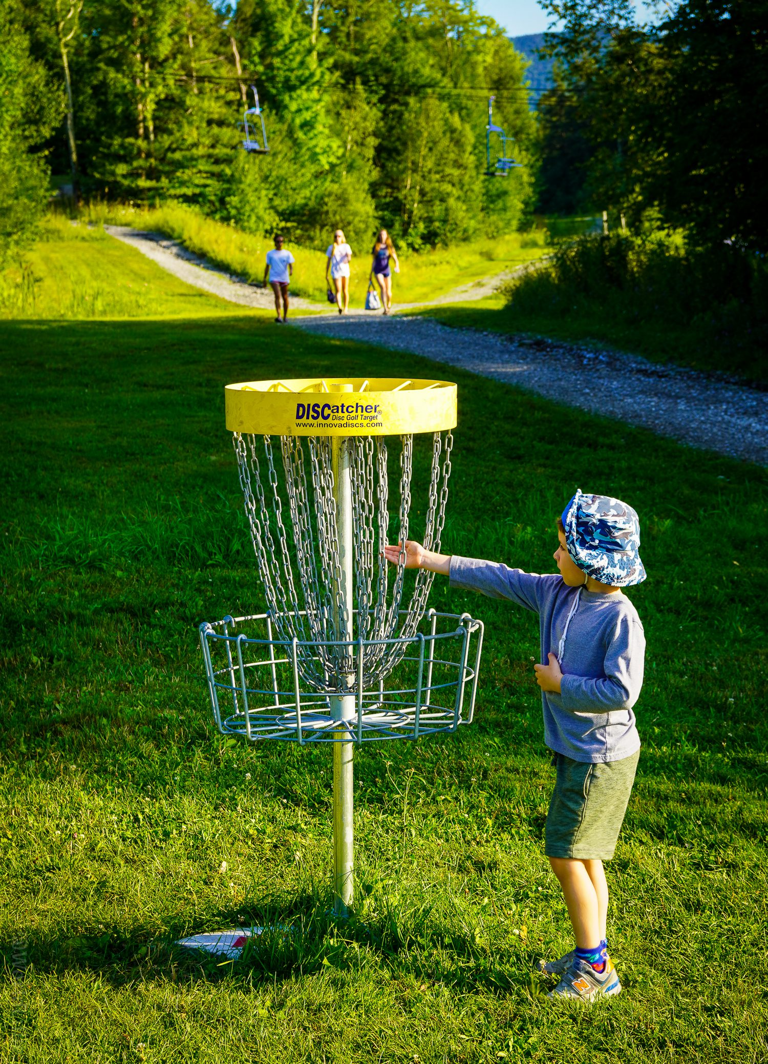 Smuggs is famous for its Disc Golf (frisbee golf)!
