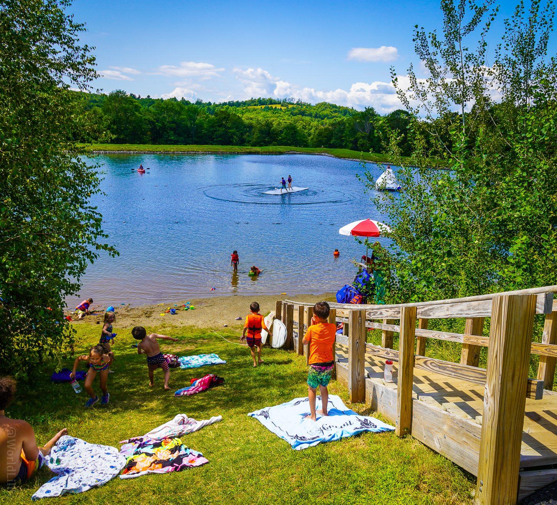 Bootleggers' Basin in idyllic swimming paradise.
