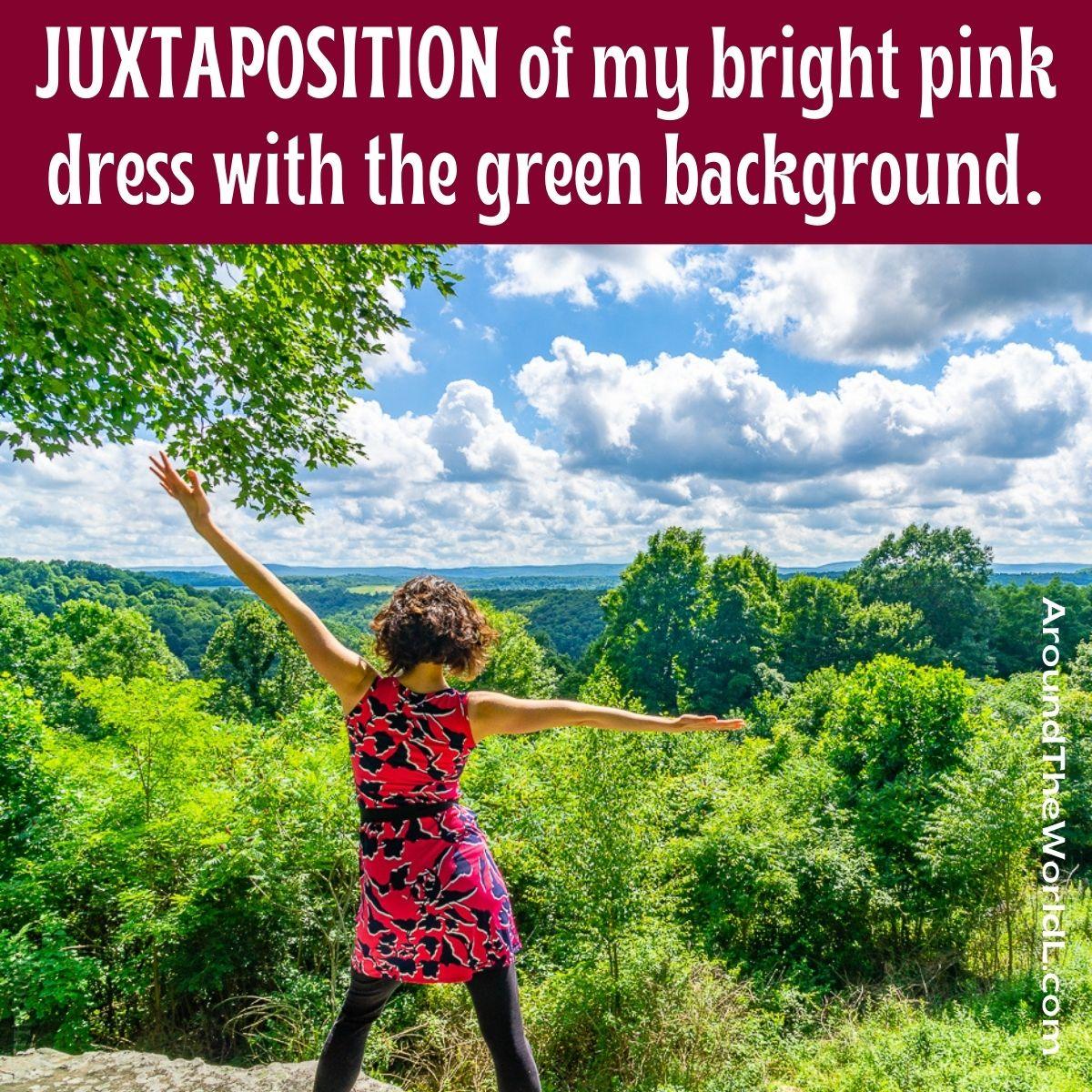 Juxtaposition photography