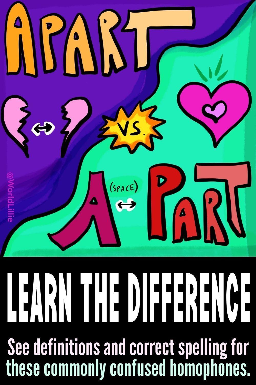 A part vs. Apart