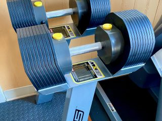 MX55 adjustable dumbbell review