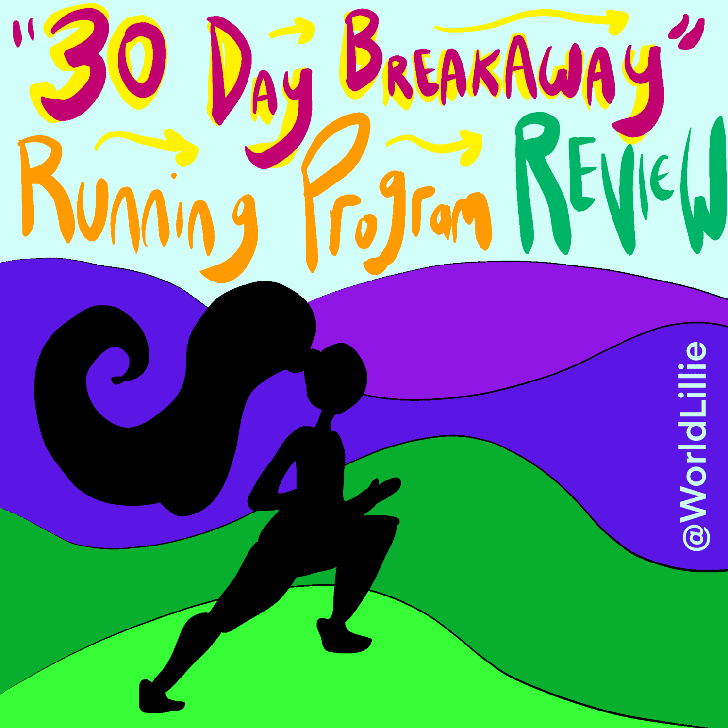 "Beachbody running program ""30 Day Breakaway"""