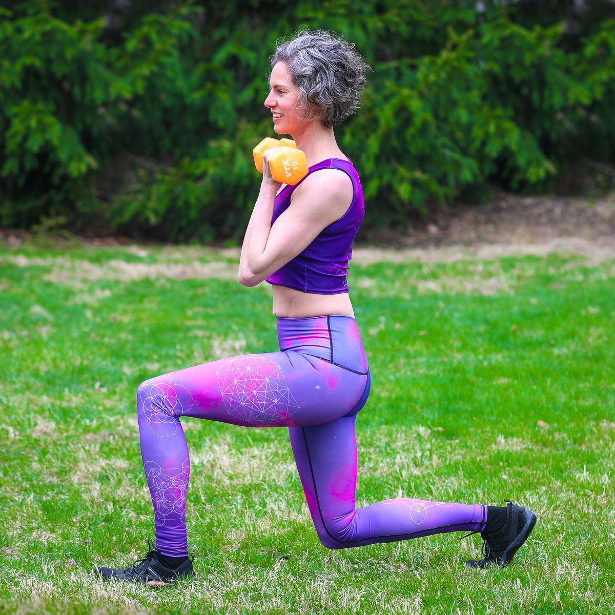 21 Day fix review: Lunges
