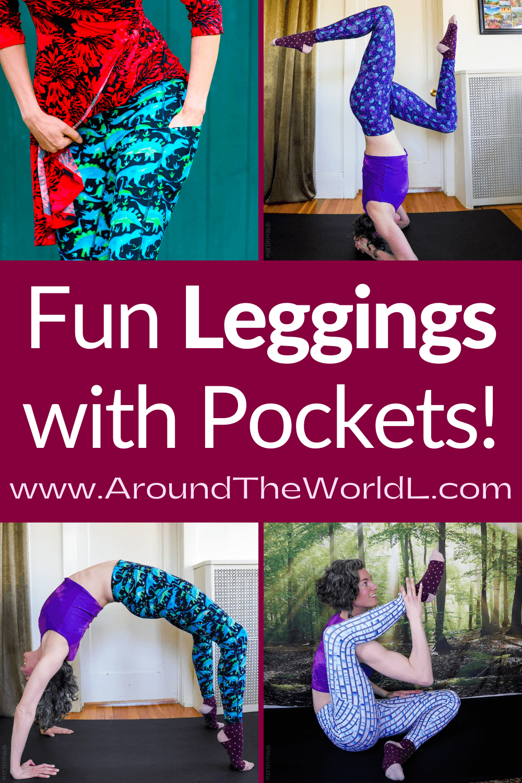 Fun leggings with pockets