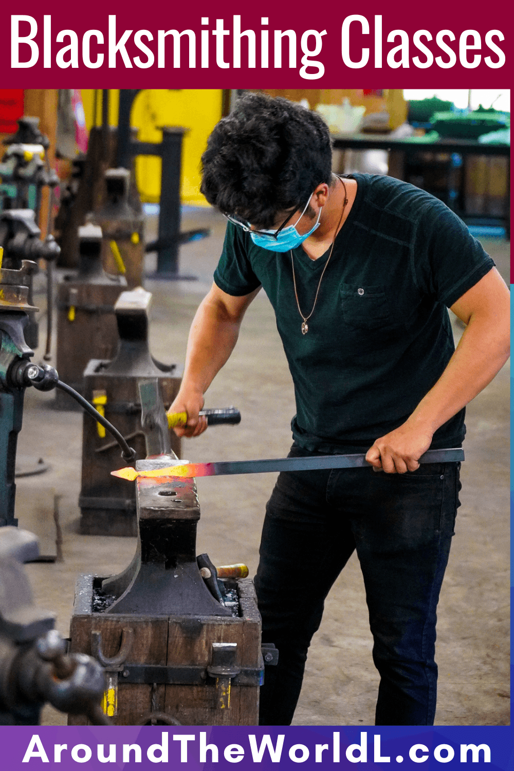 Blacksmithing classes and school