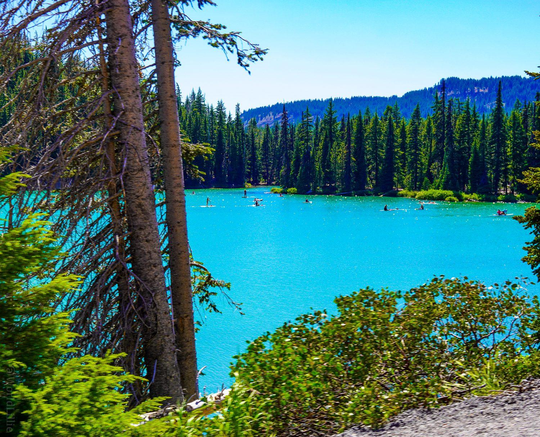 Devil's Lake -- what a color!