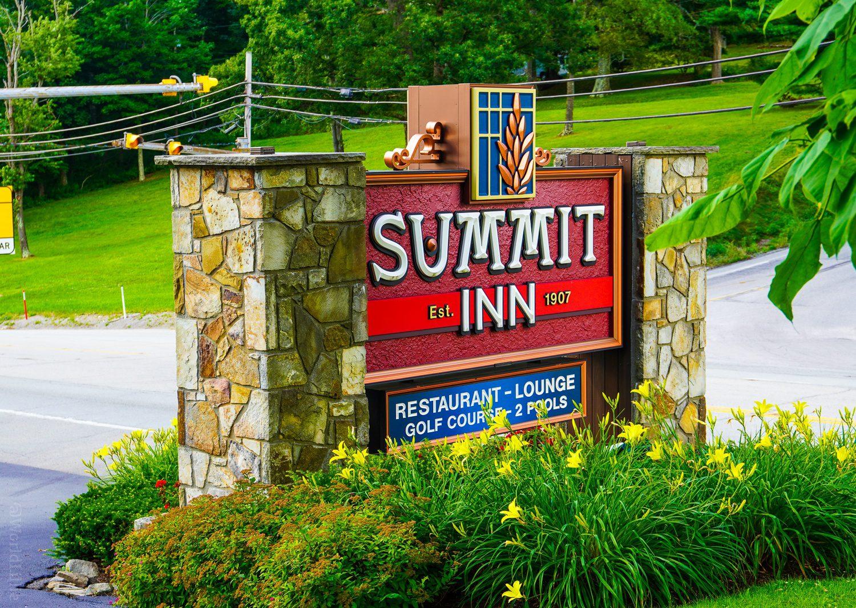 The Historic Summit Inn has been around since 1907.