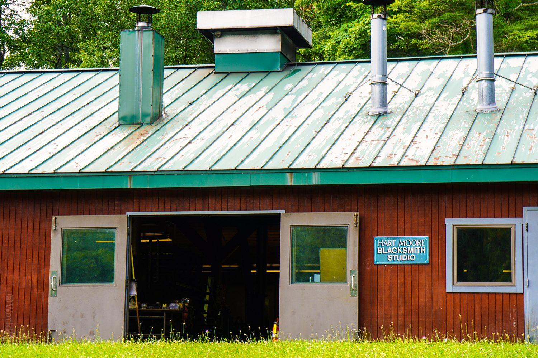 Blacksmithing classes at Touchstone