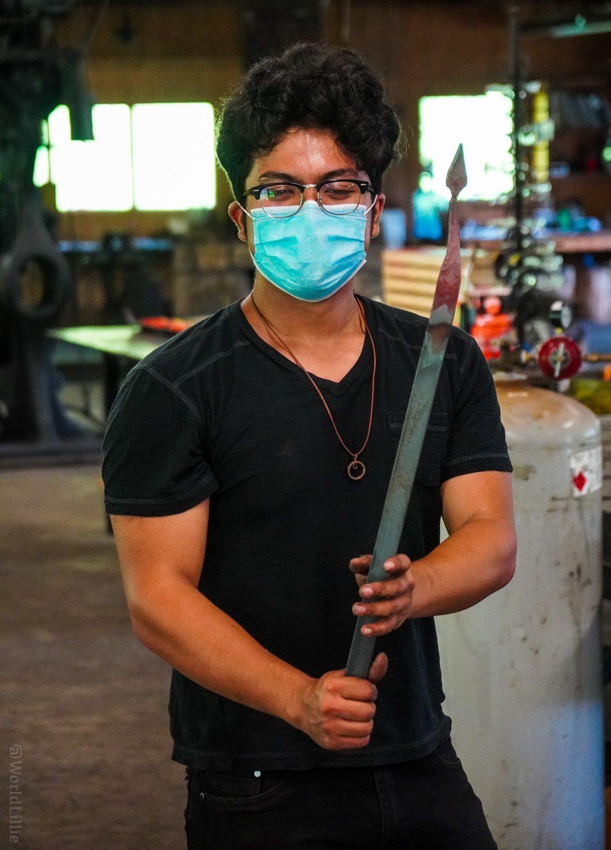 Blacksmith steel