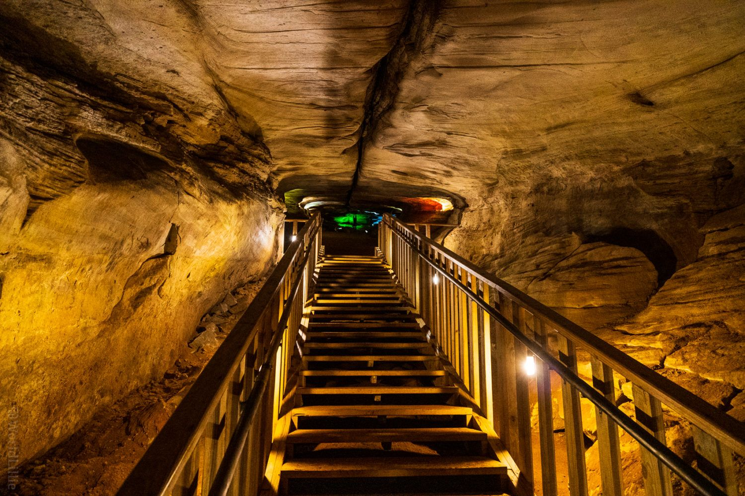 Are you claustrophobic in caves?