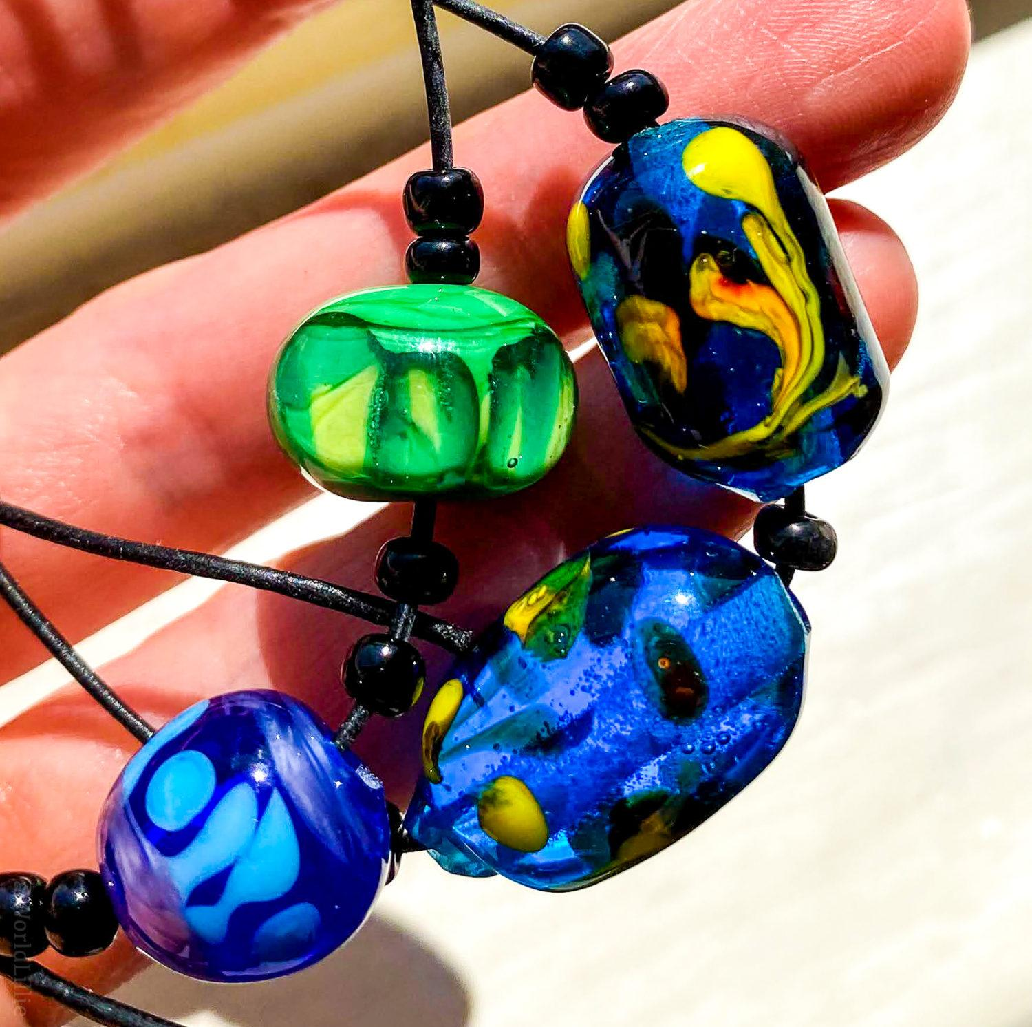 We MADE these glass beads?!