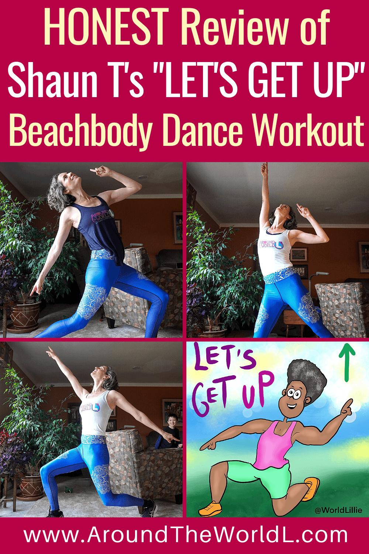 "Beachbody dance workout ""Let's Get Up"""