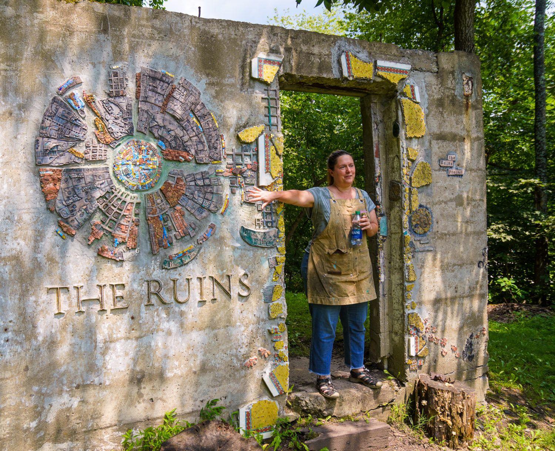 """""""The Ruins Project"""" at Sager Mosaics!"""